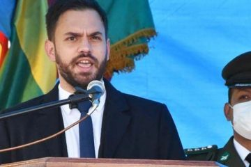 Eduardo del Castillo, ministro de Gobierno, Bolivia