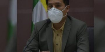 Jeyson Auza Ministro de salud Bolivia