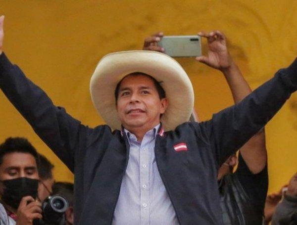 Pedro Castillo presidente electo del Perú