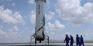 Jeff Bezos vuelo espacial