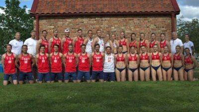Vestimenta del equipo noruego balon mano