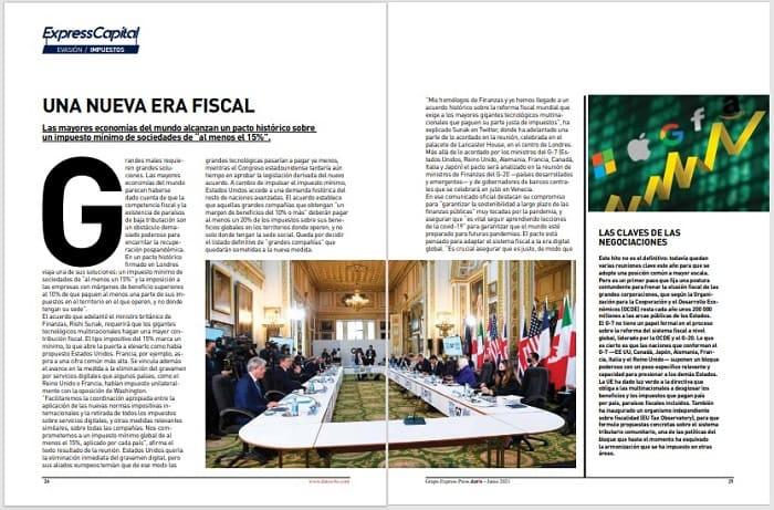 Reforma fiscal Revista dat0s Bolivia