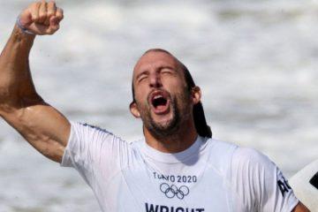 Owen Wright surfista tokio 2020
