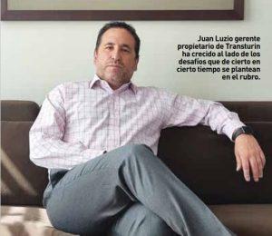 Juan Luzio gerente Transturin