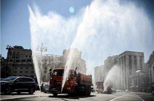 Rusia olas de calor