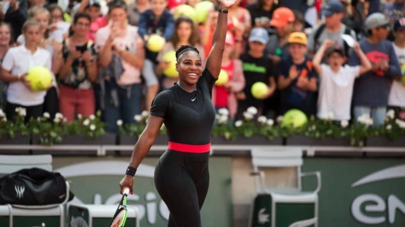 Serena Williams vestimenta catsuit