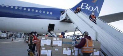 Vacuna Sinopharm llegan a Bolivia