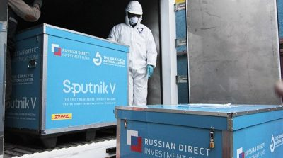 Vacuna Sputnik V en Bolivia