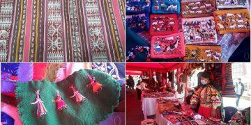 Artesanías textiles bolivianas