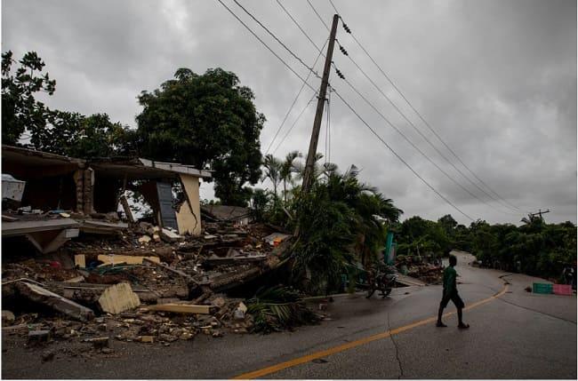 Haití terremoto 2021