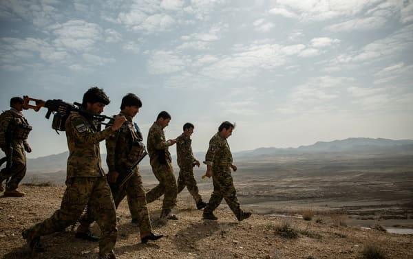 Afganistán Zabul policía afgana