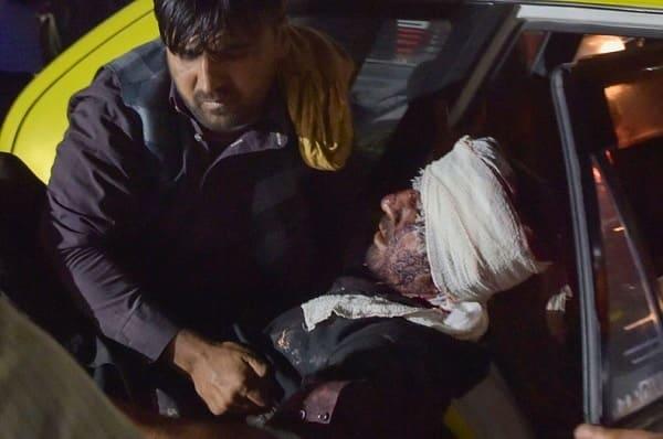 Aeropuerto Kabul, atentado