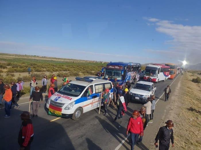 Caravanas emboscadas Bolivia 2019
