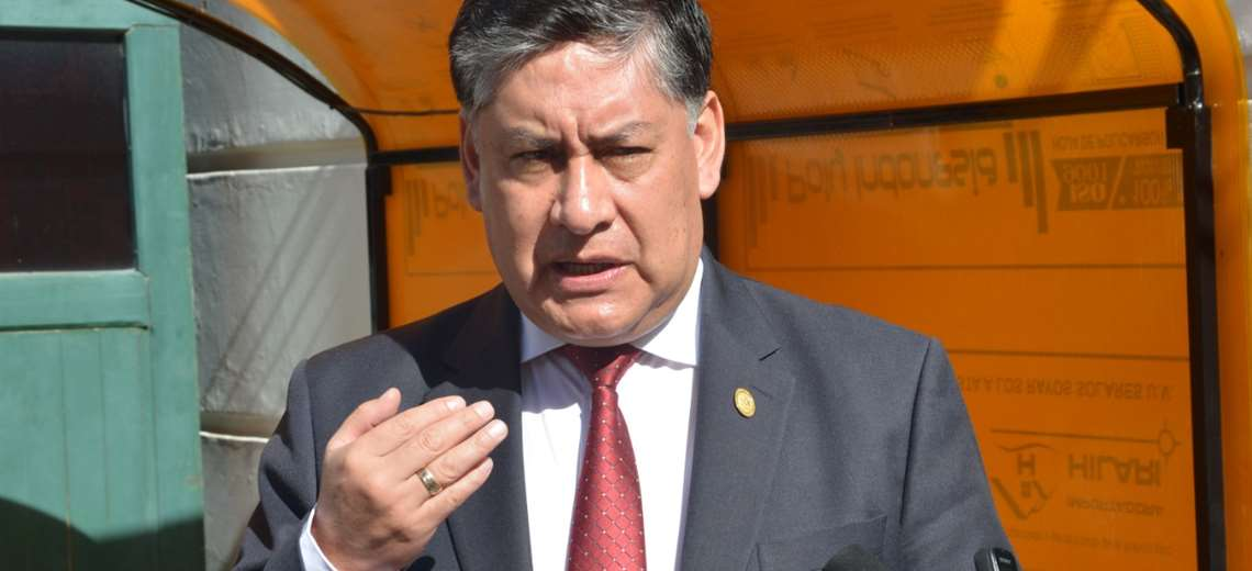 Juan Lanchipa Fiscal General Bolivia