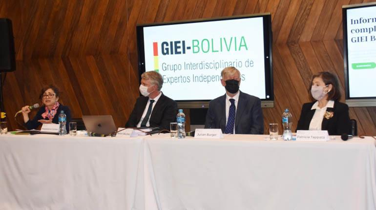 GIEI Bolivia conferencia prensa