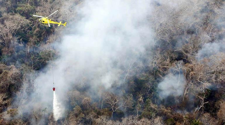 Incendios forestales chiquitania