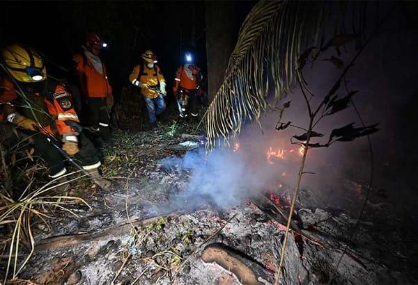 Incendios forestales Santa Cruz 2021