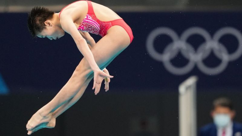 Clavado olímpico tokio 2020