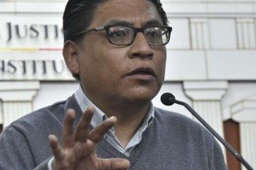 Ivan Lima, Ministro de Justicia Bolivia