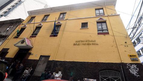 Ministerio de Trabajo La Paz Bolivia