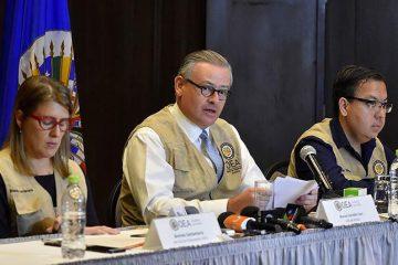 OEA investigadores elecciones 2019