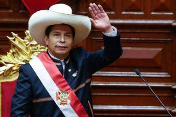 Pedro Castillo, Presidente del Perú