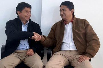 Pedro Castillo y Vladimir Cerrón
