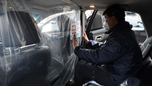 Barreras de protección de plástico anticovid