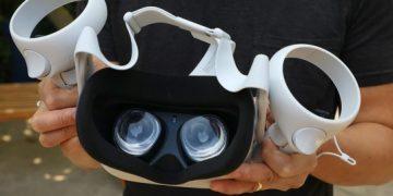 Realidad virtual lentes y controles