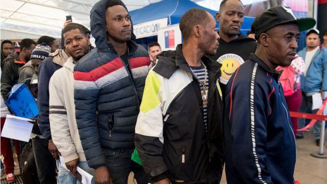 Tráfico de personas Haitianos