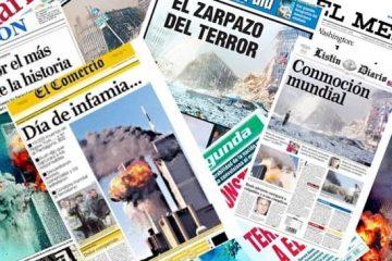 11 de septiembre 2001, titulares