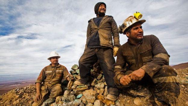 Minería cobre, Latinoamérica