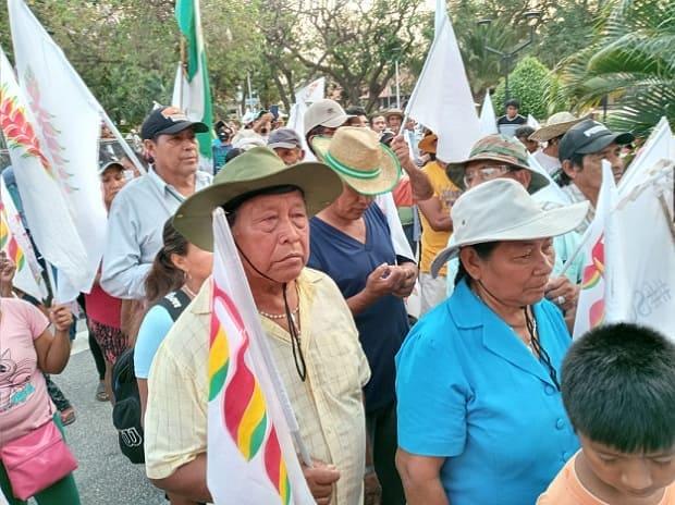 Marcha indígena, Santa Cruz septiembre 2021