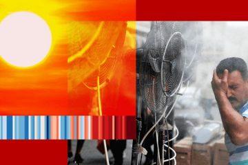 cambio climático, calor extremo