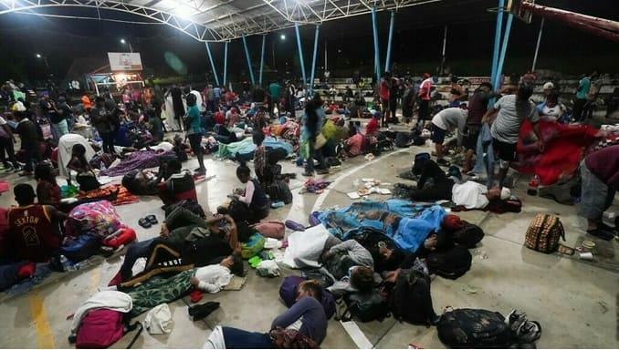 Caravana migrante México 2021