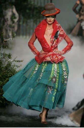 Desfile de modas, chola boliviana