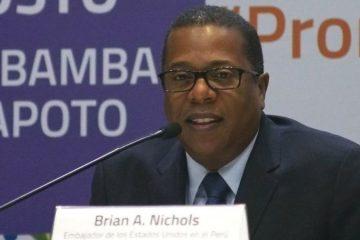 Brian Nichols, subsecretario de Estado EEUU