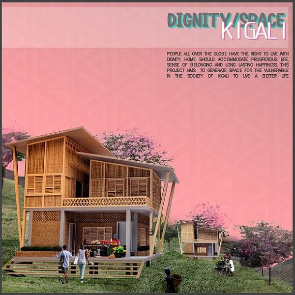 """Proyecto """"dignity space"""" para Kigali, Rwanda"""