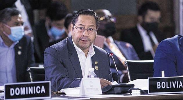 Luis Arce Catacora en la ONU