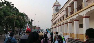 Marcha indígena. Cotoca Santa Cruz 2021