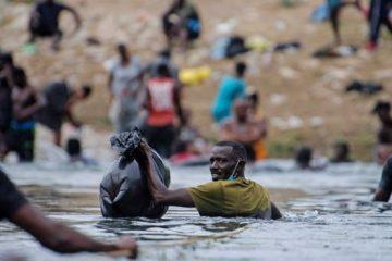 Migrantes haitianosm frontera México Y EEUU