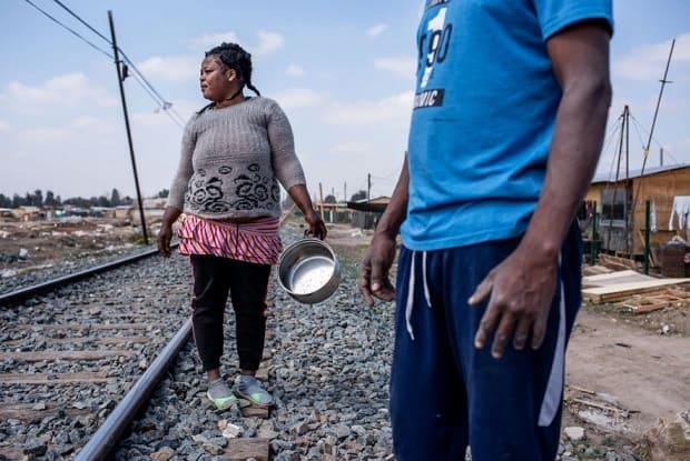 Migrantes haitianos en Chile