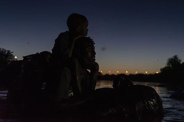 Migración. haitinanos en frontera con México y EEUU