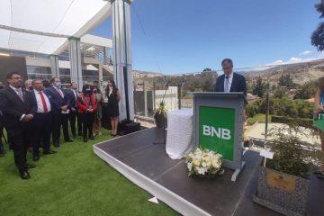 BNB inaugura edificio La Paz