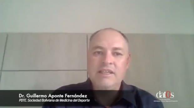 Guillermo Aponte, presidente de la Asociación Boliviana del Deporte