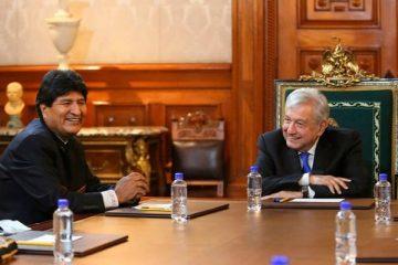 Evo Morales y AMLO