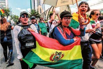 Movilización poselectoral 2019 Bolivia