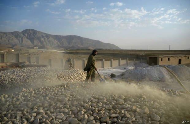 Litio Afganistán