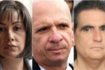 Claudia Díaz, Hugo Carvajal, Alex Saab